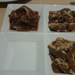 松尾ジンギスカン - 三種食べ比べランチ