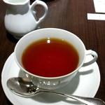 45501414 - ランチとセットの紅茶