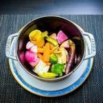 Steak and STAUB YOKOHAMA -  鎌倉野菜のブレゼ(蒸し煮)
