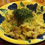 45505567 - ランチ 豚肉とさと芋の和風パスタ680円(税別) +Lサイズ100円