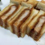 とんかつ藤よし - 料理写真:151214 カツサンド