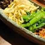 肉や 恵比寿 まる福 - ナムル