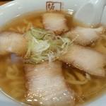 喜多方ラーメン 坂内 - このスープとチャーシュー!!