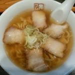 喜多方ラーメン 坂内 - 喜多方ラーメン(太麺)650円