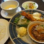 アムール - 料理写真:日替りランチ(900円).