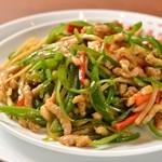 上海湯包小館 - 青椒肉絲