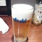 麺匠 竹虎 - 生ビール