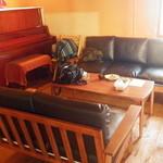 わがまま農園Cafe - 西側のソファー席