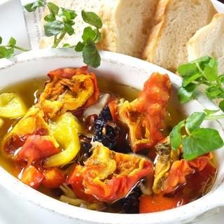 東北の食材・調味料を用いた和を感じる創作イタリアン