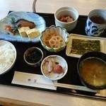 銀坐 - 和朝食(1200円)2015年12月