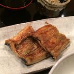 壽山 - ご飯のおともにうなぎ。