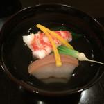 壽山 - 海老芋と車エビ