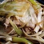 角萬 - 肉南蛮蕎麦(大盛)2階席