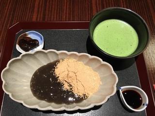 紫野 和久傳 丸の内店 茶菓 - (2015/10)できたてわらび餅
