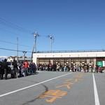桔梗屋 - 詰め放題の列 11.4月