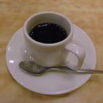 和食れすとらん 天狗 - ランチドリンクでホットコーヒー