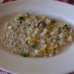 リポッソ - ポルチーニ茸とズッキーニのリゾット