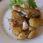 リポッソ - 鶏肉とジャガイモのロースト