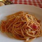 リポッソ - トマトとマスカルポーネのスパゲティ