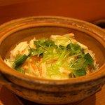 なすび亭 - 土鍋 蟹ご飯