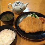 45520049 - 味噌とんかつ定食1750円