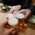 大衆割烹 三州屋 - 瓶ビアで乾杯!