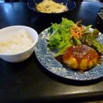 45520922 - ハンバーグ柚子胡椒風味