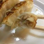 麺天 湯気家 - 餃子6個 300円