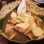 魚と日本のお酒 むく - 1512_むく_ぶりとかぶらの煮物ゆず塩仕立て.JPG