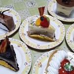 45523141 - 各種ケーキ