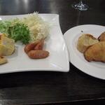 45523557 - ランチセット…前菜&パンがビュッフェスタイルで食べ放題!