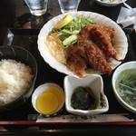 ふく福 - 料理写真:鶏から揚げ定食