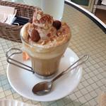 cafe maru2tasu - マロンクリームラテ