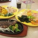 45524459 - 料理12「ステーキ&サラダ」