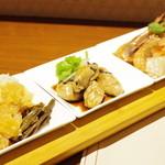 喜臨軒 - 前菜盛り合わせ