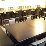 春日食堂 - ホールテーブル席リニューアル!最大25名までご利用できます❗