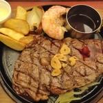ごちそうお肉ビストロ くう海 - リブロースステーキ