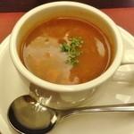 ごちそうお肉ビストロ くう海 - スープ