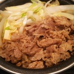 吉野家 - 料理写真:牛すき鍋膳(大)730円