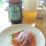 4553304 - ランチ(前菜&葉山ビール)