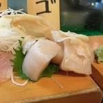 島寿し - ホタテ刺身