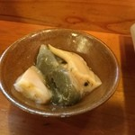 島寿し - ホタテの肝