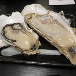 45530501 - 生牡蠣:北海道厚岸産のながえもん、佐賀県竹崎産