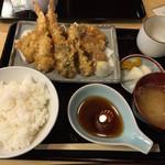 Tenzan - 天ぷら定食 上