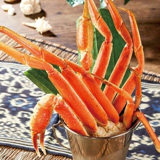 カニざんまい名物蟹バケツ