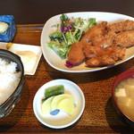 澄の家 - ミックスフライ定食¥980税込