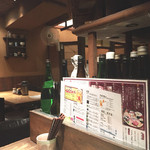 和食Dining うお座 - カウンター奥からの内観