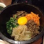 韓の香 - 石焼ビビンバ2015.05