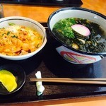 45536732 - H.27.12.15.昼 親子丼定食(わかめどん) 788円税別
