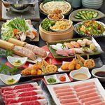 しゃぶしゃぶ・寿司・和食 海王 - 料理写真:しゃぶしゃぶ、寿司、一品料理が食べ放題!